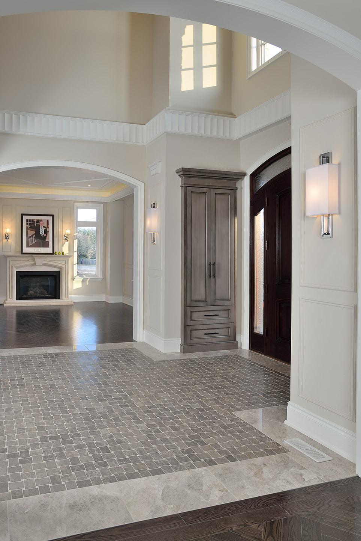 Ridgewood estates model home erindale painting for Model home flooring
